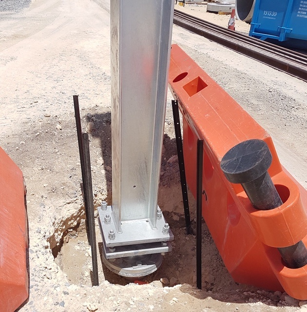 Precision Screw Pile Installation