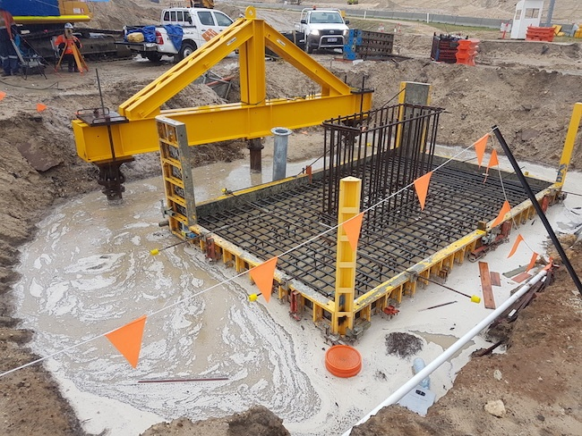 Uninterupted Screw Pile Installation & ISL Load Testing